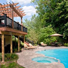 Traditional Pool by Elegant Interior Designs