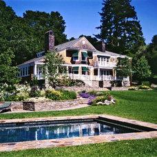 Traditional Pool by BraytonHughes Design Studios