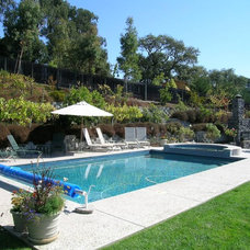 Traditional Pool by K&L Construction Co;Inc