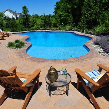 Backyard Free-Form Pool Retreat