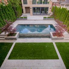 Modern Pool by EasyTurf