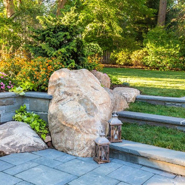 Backyard makeover and pool renovation for a family in Ridgewood NJ