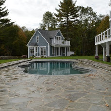 Rustic Pool by Infinity Construction LLC