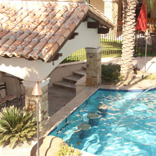 Backyard Oasis - Pool, Spa, Swim-Up Bar, Grotto, Slides & Water Features