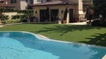 Backyard of ProGreen Artificial Grass