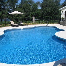 Traditional Pool by Backyard Essentials by Pools Plus