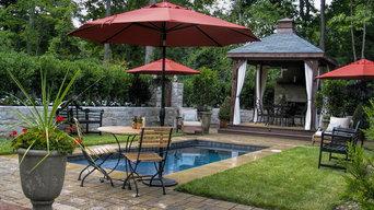 Backyard Pool and Cabana