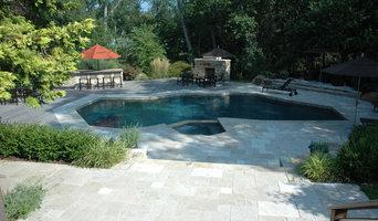 Backyard pool and landscape project