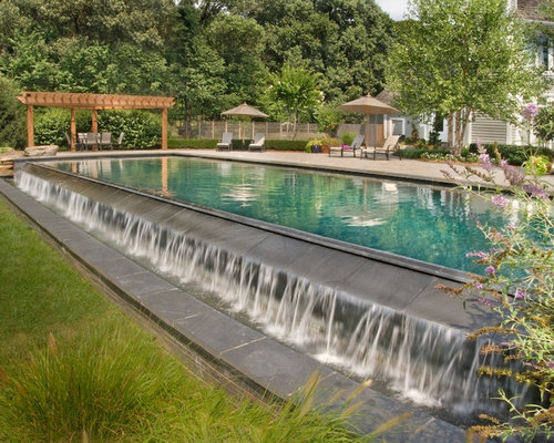 Best Infinity Swimming Pool Design Ideas & Remodel Pictures | Houzz