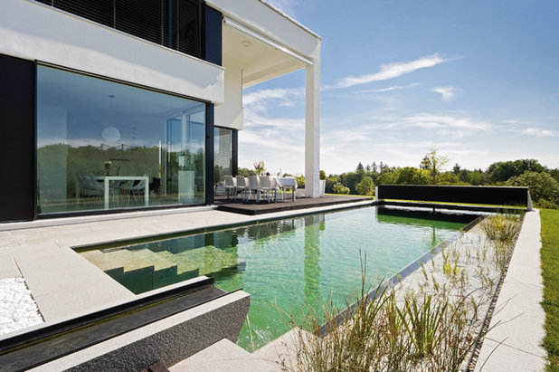 Modern Pools by Hofquartier