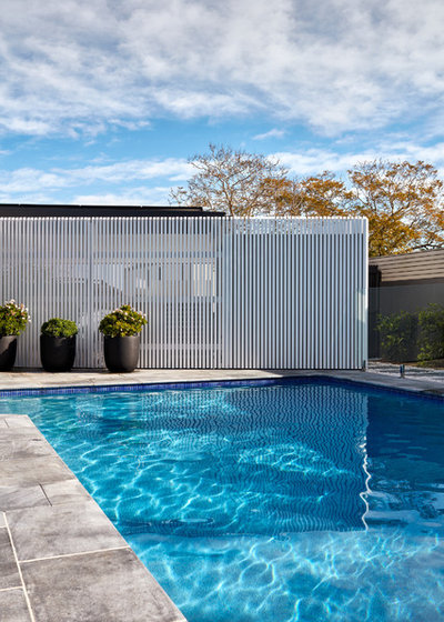 Contemporary Pool by Hobbs Jamieson Architecture