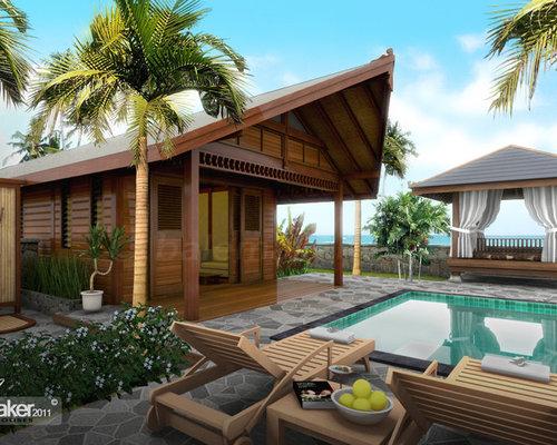 Tropical Pavilion Style Homes House Design Plans