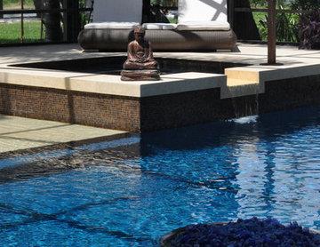 bali style pool