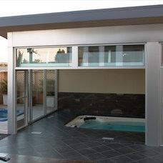 Modern Pool Ballard Pool House