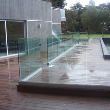Contemporary Pool by Melbourne Decking