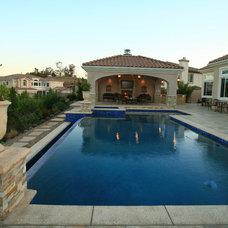 Mediterranean Pool by Genesis Pools and Spas