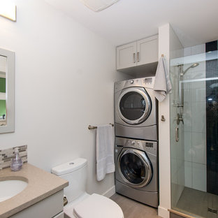 Bathroom With Washer & Dryer