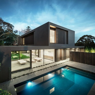 Inspiration for a scandinavian pool remodel in Melbourne