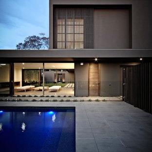 Выдающиеся фото от архитекторов и дизайнеров интерьера: бассейн в скандинавском стиле
