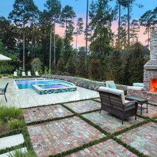 75 New Orleans Brick Pool Design Ideas Stylish New Orleans Brick