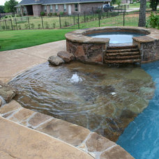 Beach Style Pool by Pulliam Pools