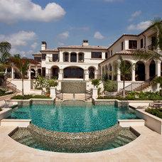 Mediterranean Pool by Kurtz Homes Naples