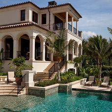 Mediterranean Pool by Kurtz Homes Naples