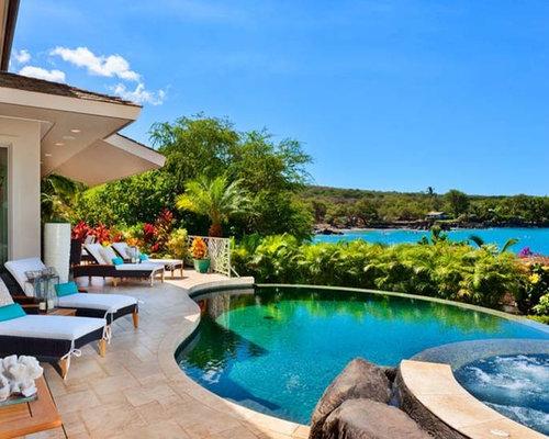 Beach style hawaii pool design ideas remodels photos for Pool design hawaii