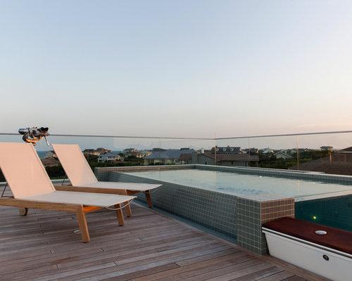 Fotos de piscinas dise os de piscinas modernas en azotea for Piscina rectangular pequena