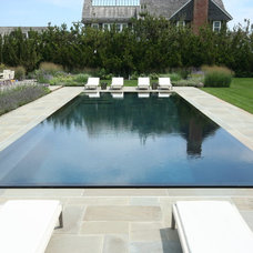 Beach Style Pool by J. Tortorella Swimming Pools