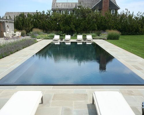 negative edge pool houzz