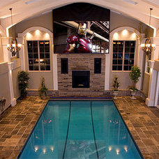 Traditional Pool by Dell Smart Home Solutions
