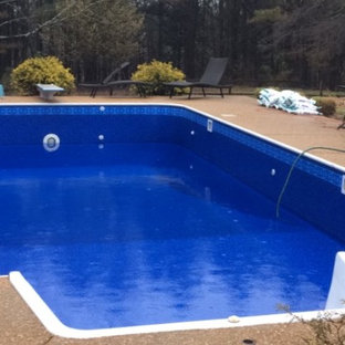 Before/After Pool Repairs/Cleanings