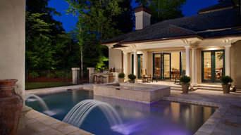 Before & After: After Pool Area Lighting