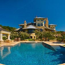 Mediterranean Pool by Liquidscapes