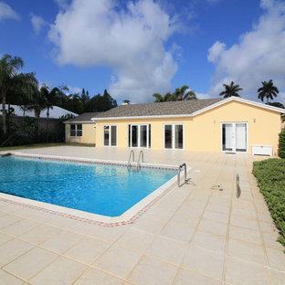 Example of a coastal pool design in Miami