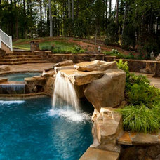 Tropical Pool by Sunmar Construction