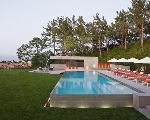 Above ground infinity pool design ideas remodels photos for Pool design 101