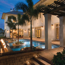 Contemporary Pool by Belgard