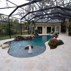 Traditional Pool by J. S. Perry & Co., Inc.
