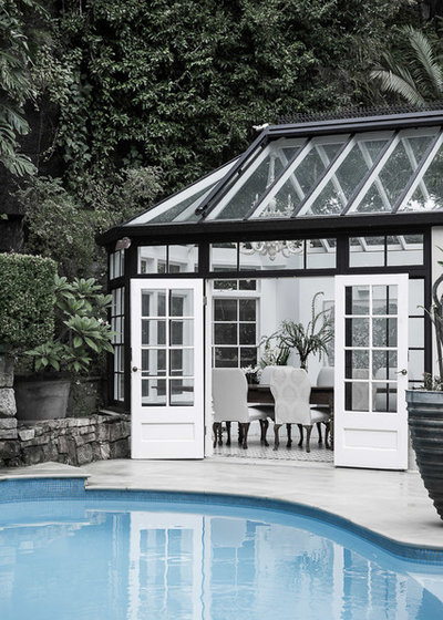 Traditional Pool by Studio Kate
