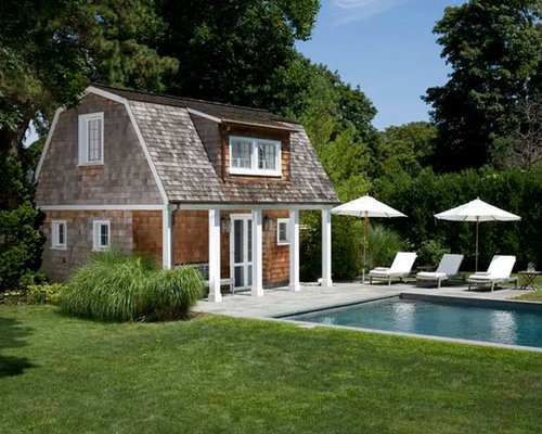 Bellport pool house and addition for Pool house additions