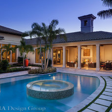 Tropical Pool by Insignia Design Group