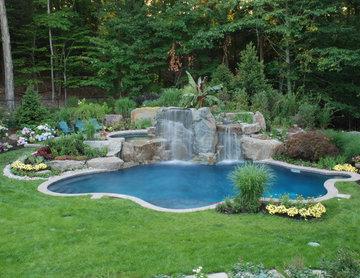 Bergen County, NJ Inground Swimming Pool Design and Installation