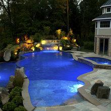 Luxury Inground Swimming Pool & Spa Design & Installation ...