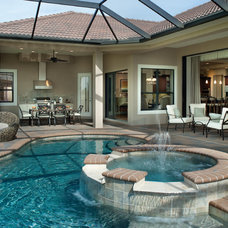 Mediterranean Pool by Arthur Rutenberg Homes