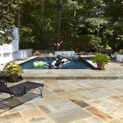 eclectic pool by Designing Solutions