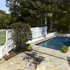Traditional Pool by Designing Solutions