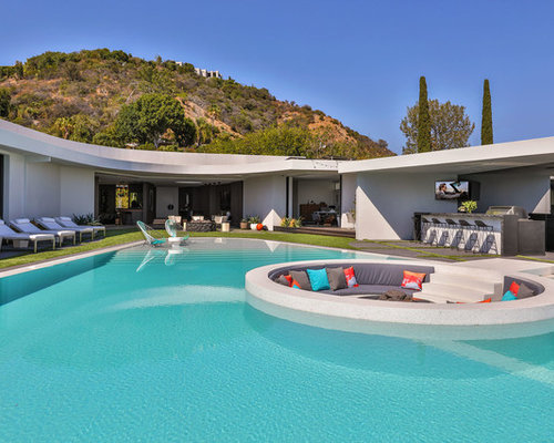 Pool Design backyard landscaping ideas swimming pool design Best Contemporary Pool Design Ideas Remodel Pictures Houzz
