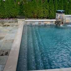 Traditional Pool by Gillette Brothers Pool & Spa, Inc.